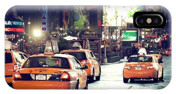 New York City Night Drive IPhone Case