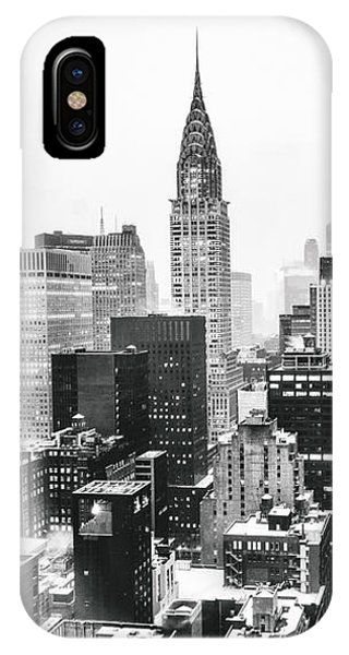Skyline iPhone Case - Nyc Snow by Vivienne Gucwa