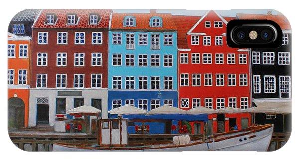 Nyhavn Copenhagen IPhone Case