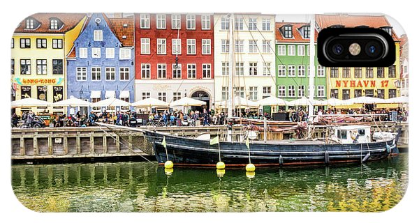 Nyhavn, Copenhagen IPhone Case