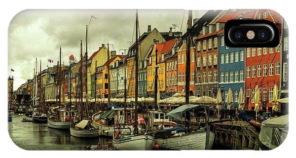 Nyhavn In Copenhagen IPhone Case