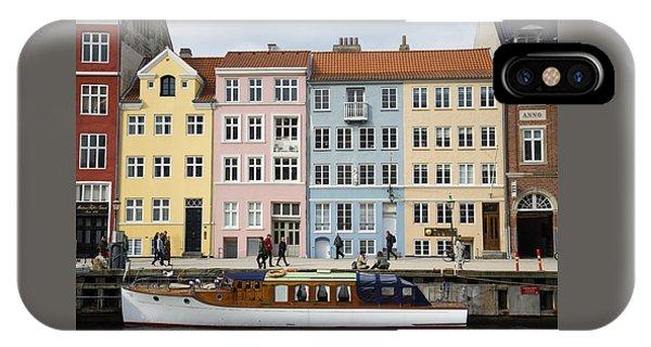 Nyhavn Pastels IPhone Case