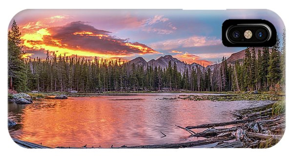 Nymph Lake Sunrise Phone Case by Robert Yone