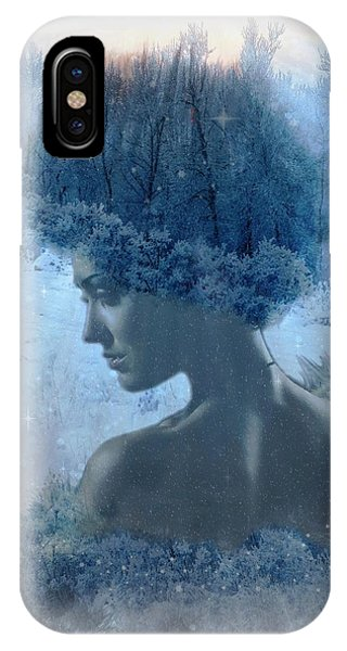 Nymph Of January IPhone Case