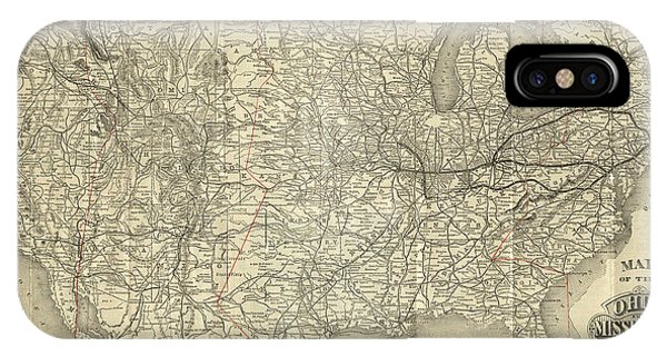 O And M Map IPhone Case