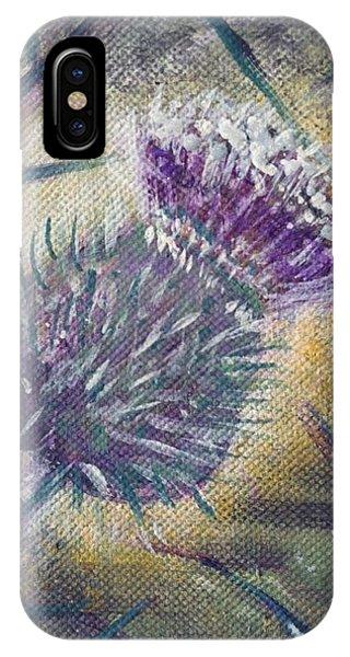 O' Flower Of Scotland IPhone Case