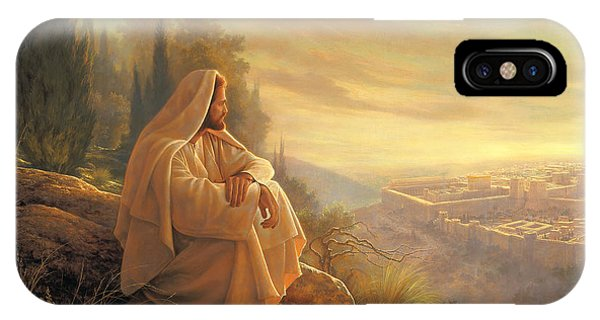 Oil iPhone Case - O Jerusalem by Greg Olsen