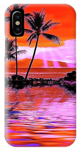 Oahu Island IPhone Case