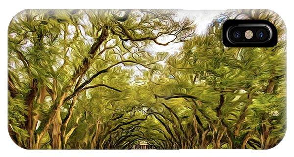 Oak Alley 6 - Paint IPhone Case