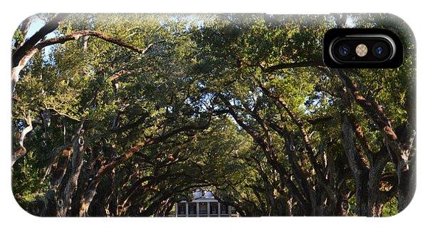 Oak Alley Plantation IPhone Case