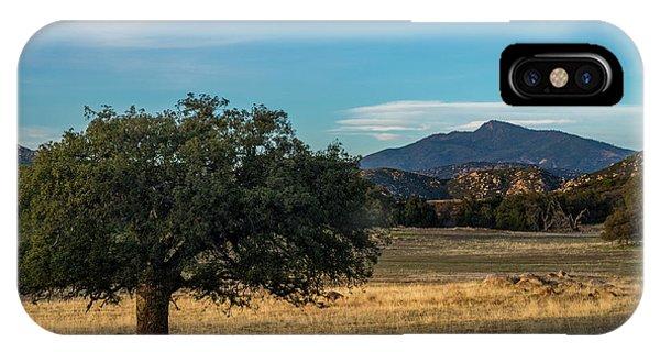 Oak And Cuyamaca IPhone Case