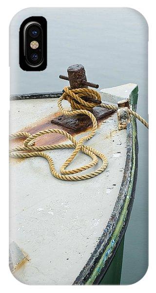 Oak Bluffs Fishing Boat IPhone Case