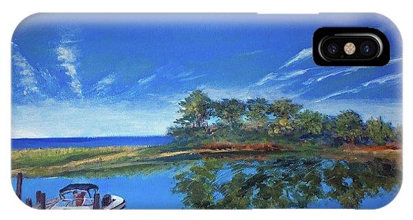 Oak Bluffs With Grady White IPhone Case