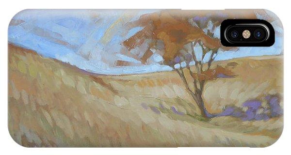 iPhone Case - Oak Savanna, Autumn by Kim Gordon