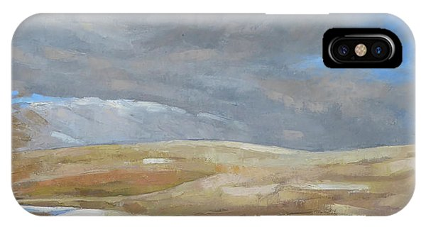iPhone Case - Oak Savanna, Fall Storm by Kim Gordon