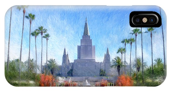 Oakland Temple No. 1 IPhone Case