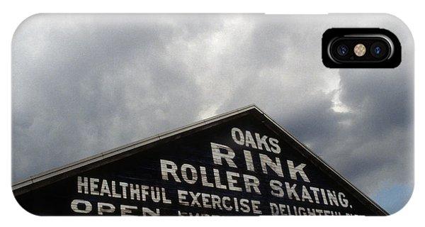 Oaks Skating Rink IPhone Case