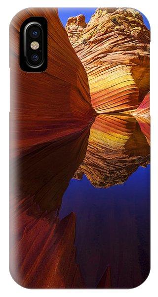 Orange iPhone Case - Oasis by Chad Dutson