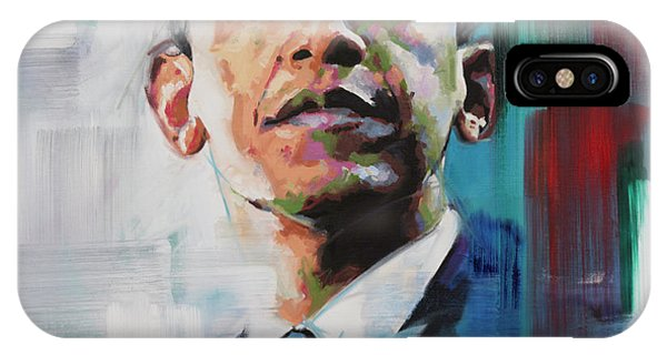 Different iPhone Case - Obama by Richard Day