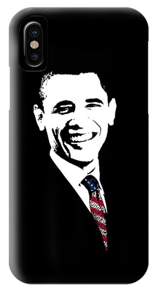 Barack Obama iPhone Case - Obama Graphic by War Is Hell Store