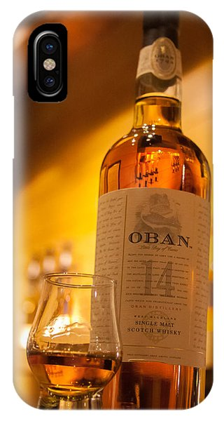 Oban Whisky IPhone Case