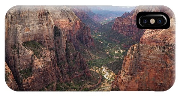 Observation Point - Zion IPhone Case