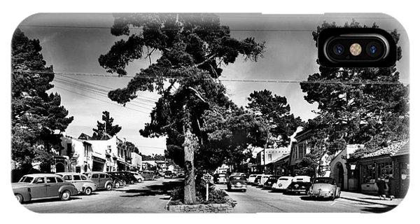 Ocean Avenue At Lincoln St - Carmel-by-the-sea, Ca Cirrca 1941 IPhone Case