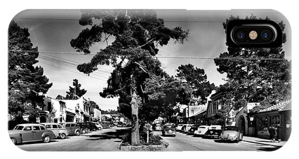 Ocean Avenue At Lincoln St - Carmel-by-the-sea, Ca Cirrca 1941 IPhone Case