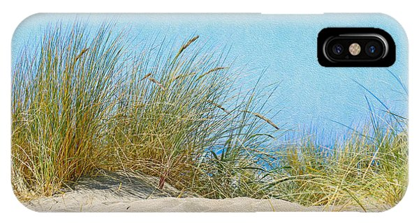 Ocean Beach Dunes IPhone Case