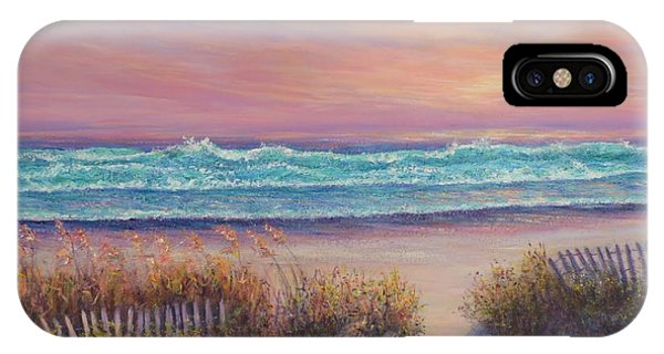 Ocean Beach Path Sunset Sand Dunes IPhone Case