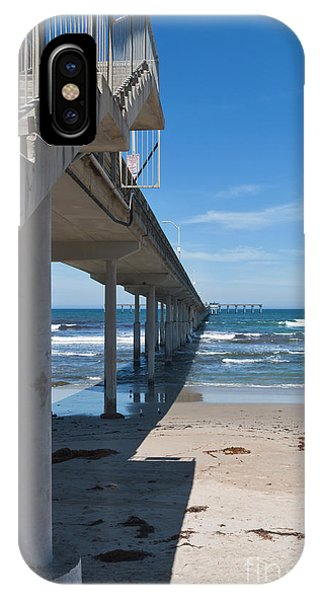 Ocean Beach Pier Stairs IPhone Case