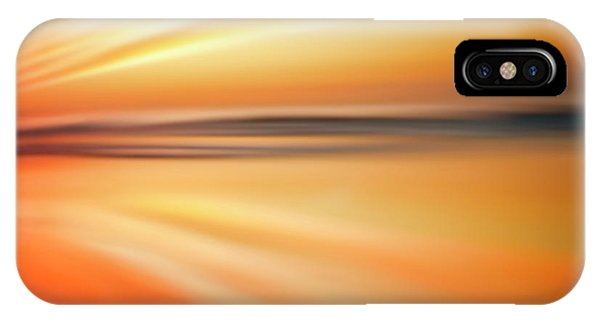 Ocean Beach Sunset Abstract IPhone Case