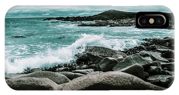 Tidal iPhone Case - Ocean Blue Granville Harbour by Jorgo Photography - Wall Art Gallery