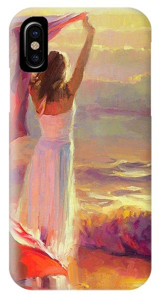 Watercolor iPhone Case - Ocean Breeze by Steve Henderson