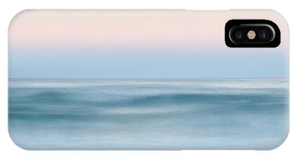 Crash iPhone X Case - Ocean Calling by Az Jackson