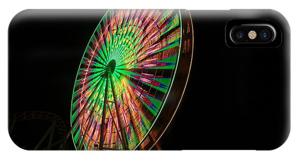 Ocean City Ferris Wheel IPhone Case