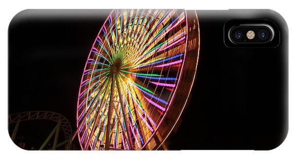 Ocean City Ferris Wheel1 IPhone Case