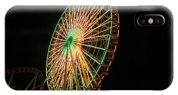 Ocean City Ferris Wheel3 IPhone Case
