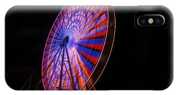 Ocean City Ferris Wheel4 IPhone Case