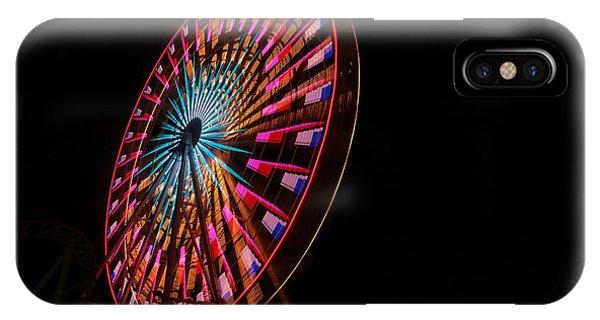 Ocean City Ferris Wheel6 IPhone Case