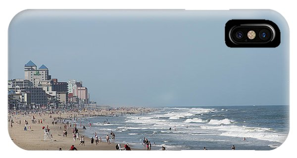 Ocean City Maryland Beach IPhone Case
