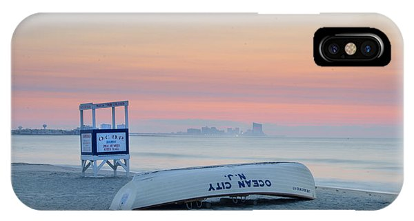 iPhone Case - Ocean City New Jersey Before Sunrise by Bill Cannon