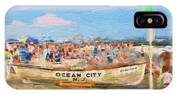 Ocean City Rescue Boat 2 IPhone Case