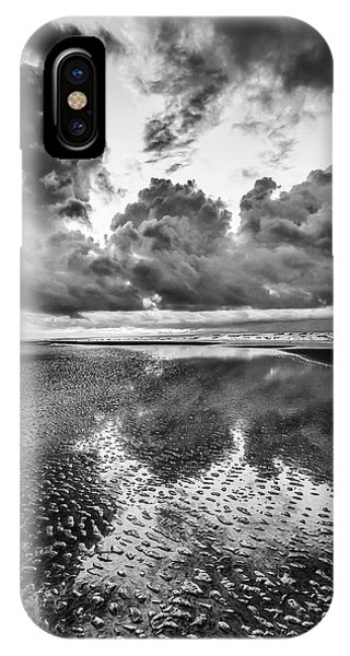 Ocean Clouds Reflection IPhone Case