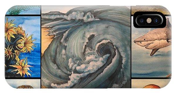 Ocean Collage #1 IPhone Case