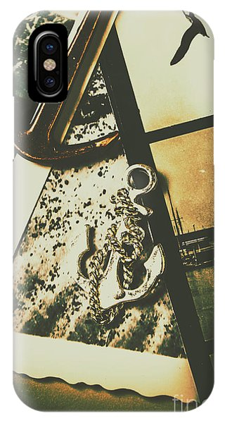 Iron iPhone Case - Ocean Cruise Nostalgia by Jorgo Photography - Wall Art Gallery