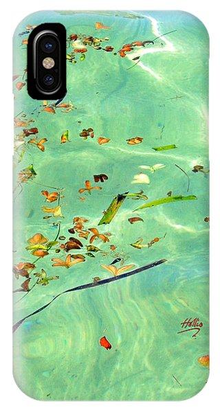 Ocean Flowers IPhone Case
