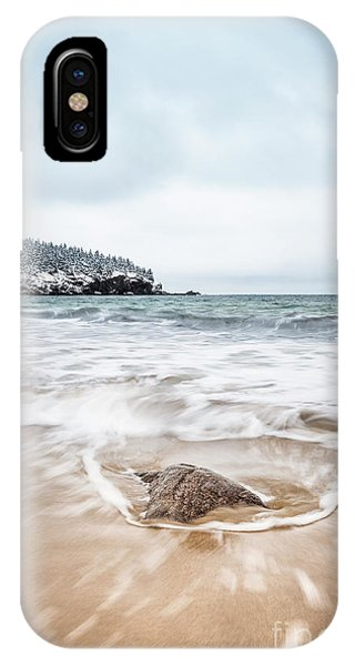 New England Coast iPhone Case - Ocean Flows by Evelina Kremsdorf