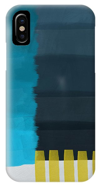 Abstract Landscape iPhone Case - Ocean Front Walk- Art By Linda Woods by Linda Woods