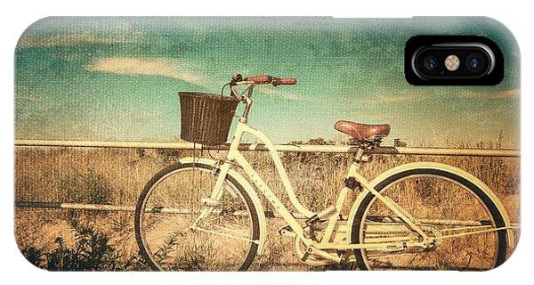 Ocean Grove Bicycle IPhone Case